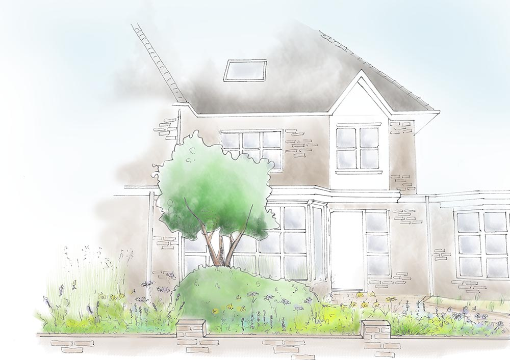 tuinontwerp-tuinadvies-tuinarchitect-tuinaanleg-hovenier-tuinontwerper-Toffe Tuinen-Laura Knoops-voortuin-Eindhoven-bloementuin-beplantingsplan